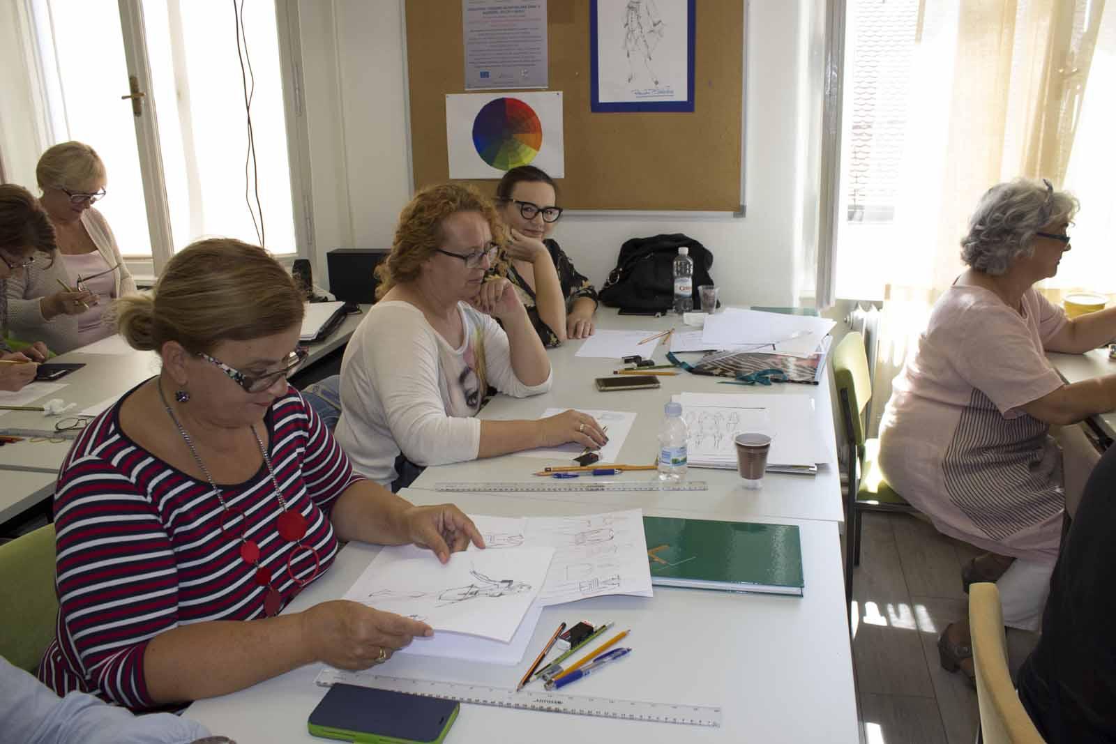 Cjeloživotno učenje u Callegariju - Plodovi ruku kreativnih žena