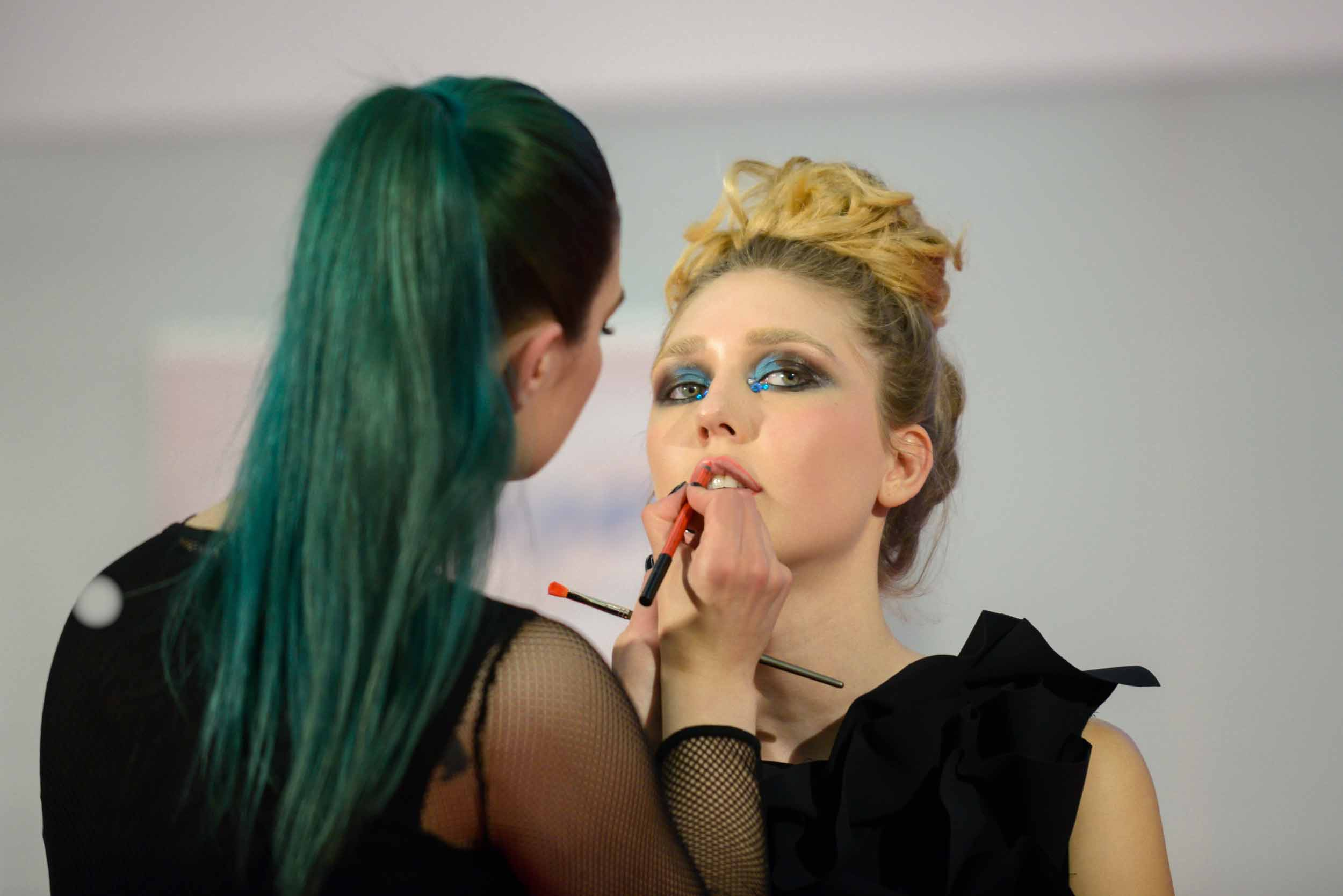 BEAUTY & HAIR EXPO ZAGREB 2019: Prestižan make up look aktualne Kraljice Hrvatske by Callegarijeva Make up Artistica Tena Bašić