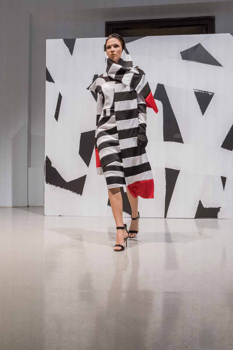 ZAGREB FASHION DESTINATION 2020:  Callegari službeni sponzor make up-a i Op art kolekcija Callegarijevih polaznika modnog stilizma