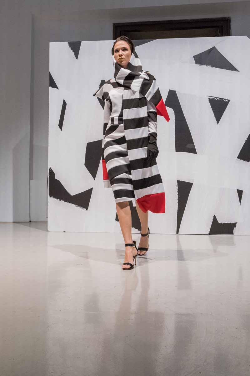 ZAGREB FASHION DESTINATION 2020:  Callegari službeni sponzor make up-a i Op art kolekcija Callegarijevih polaznika modnog stilizma