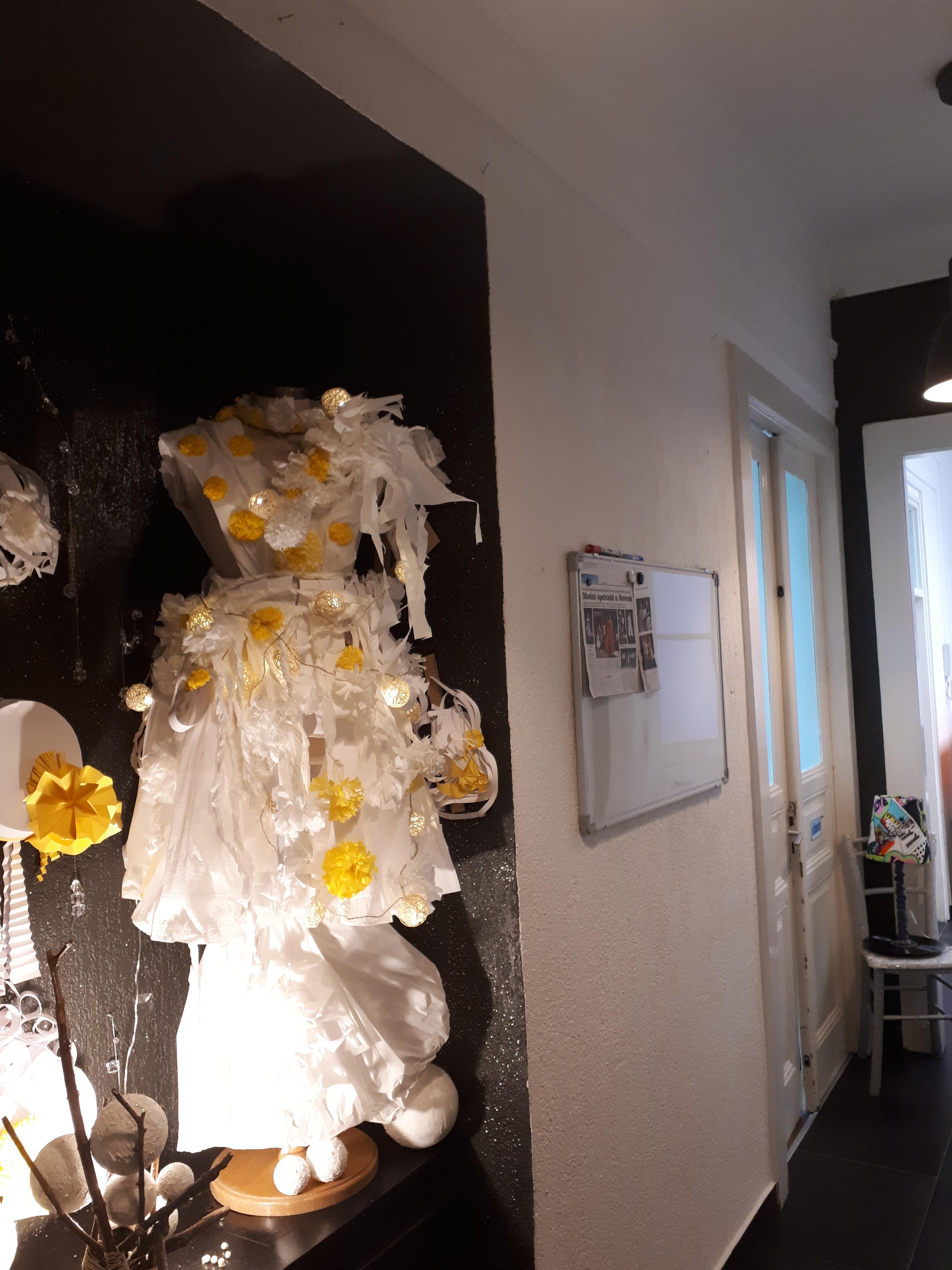 Umjetnost i moda od papira