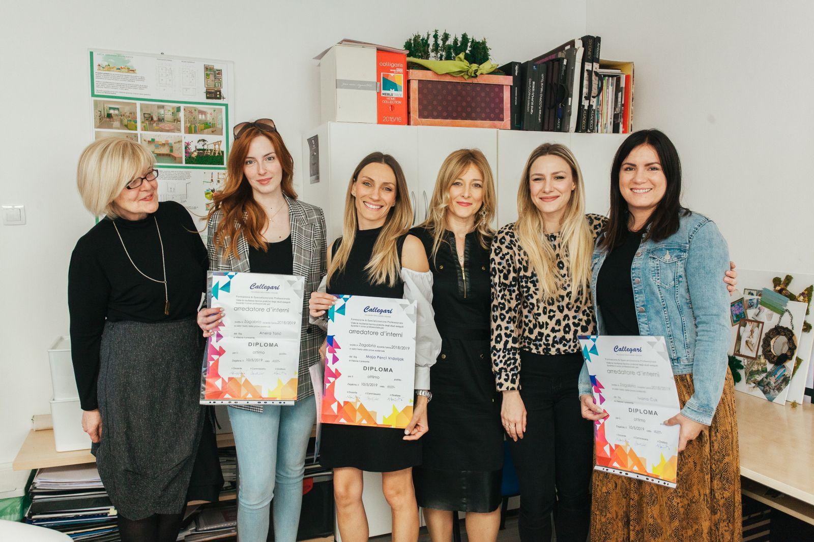 U Zagrebu promovirana 32 diplomanta dizajna interijera, mode i makeupa