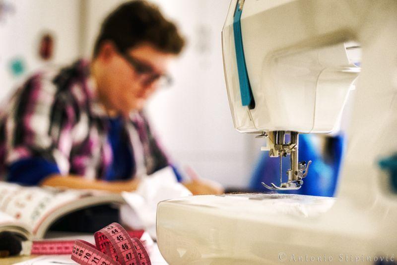 Modni stilist odjeće - modelist visoke mode