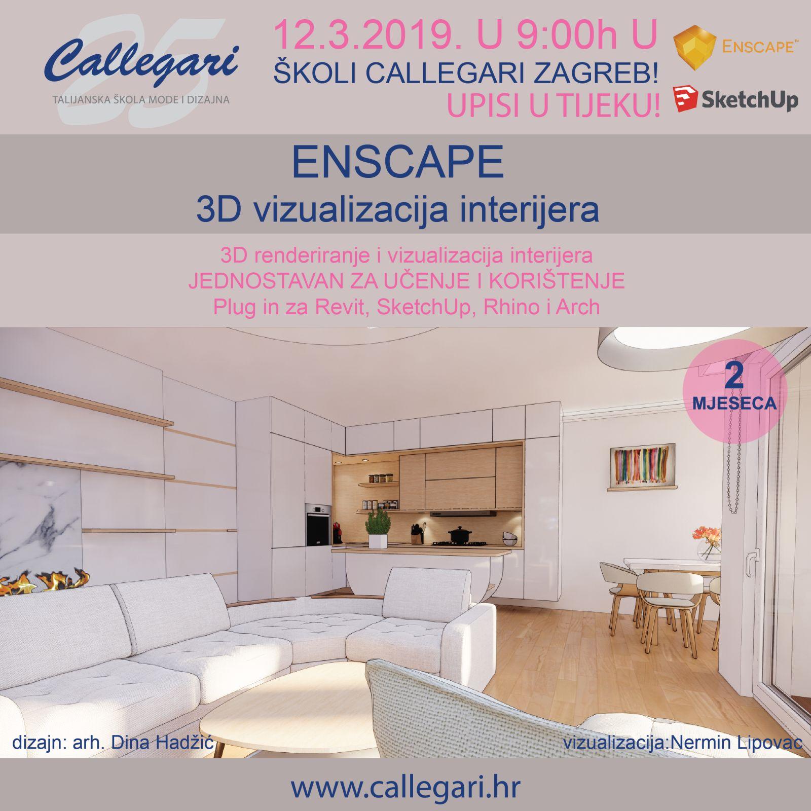 ENSCAPE -  3D renderiranje i vizualizacija interijera