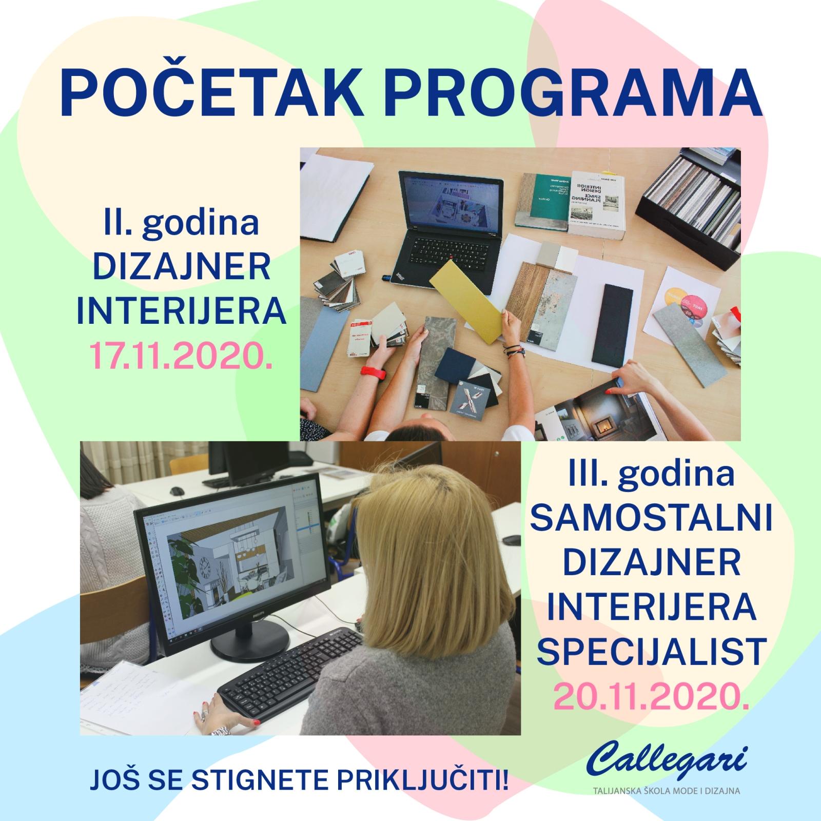 POČETAK NASTAVE - 2. i 3. godina