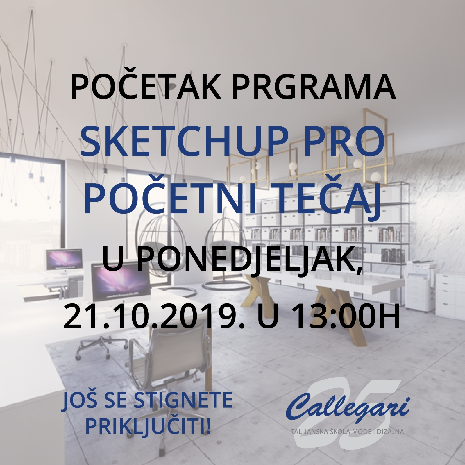 SketchUp Pro početni tečaj