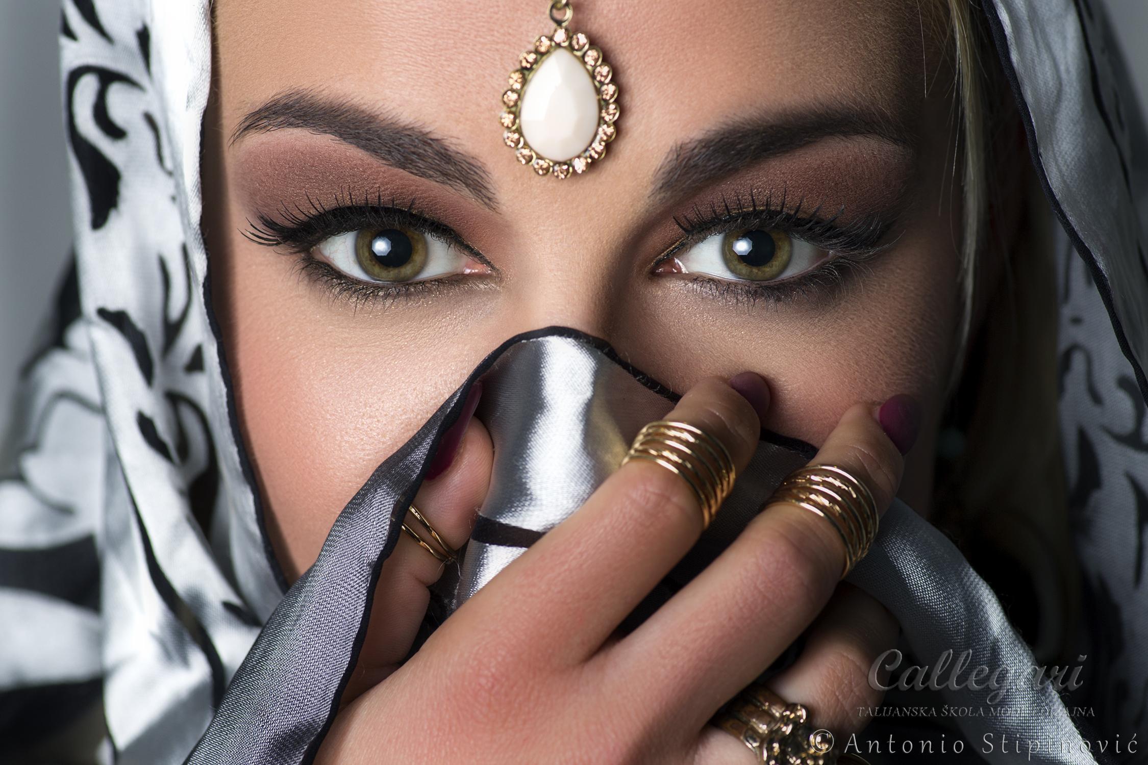2. stupanj tečaja šminkanja